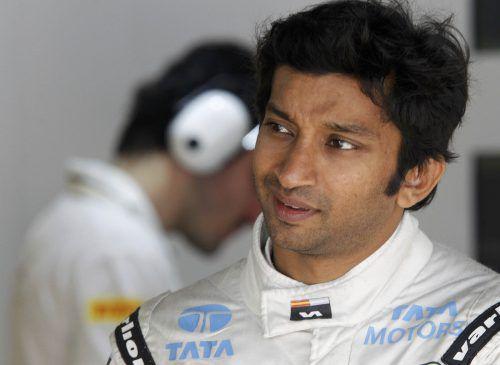 Ex-Formel-1-Pilot Narain Karthikeyan setzte sich im Dreamrace durch. reuters