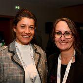 """<p class=""""caption"""">Ex-Weltcupläuferin Katja Wirth und Gabi Ziller (ProMedia Kommunikation).</p>"""