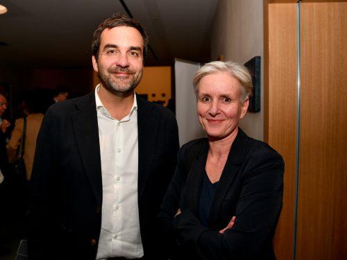 Falter-Chefredakteur Florian Klenk und Medienanwältin Maria Windhager.