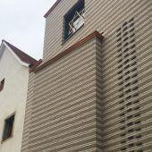 Synagoge mit Elementen von Peter Zumthor errichtet
