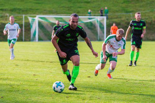 Auf Tore von Junior Cordeiro Soares Delcio setzt man beim Dornbirner SV auch im Frühjahr.VN-Stiplovsek/VN-Hartinger