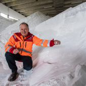 Frau Holle lässt grüßen. Vorarlbergs Winterdienste sind einsatzbereit. A8