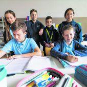 Buben haben Schule Riedenburg verändert