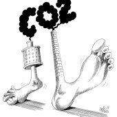 Der ökologische Fußabdruck!