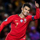 Ronaldos Jagd nach nächster Bestmarke