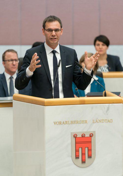 """""""Wir haben das Nulldefizit tatsächlich nie in die Landesverfassung geschrieben.""""LH Markus Wallner zur möglichen Darlehensaufnahme fürs Landesbudget 2020"""