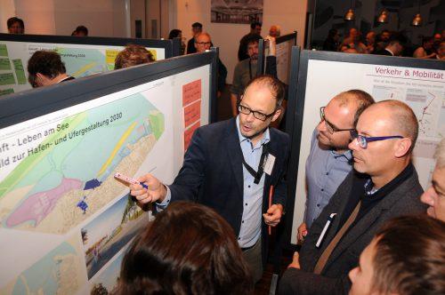 Auch Amtsleiter Martin Vergeiner informierte über Planungsdetails.