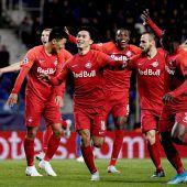 Eindrucksvoller Sieg von RB Salzburg