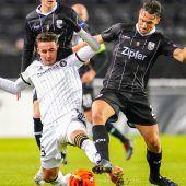 LASK Linz gewinnt in Trondheim mit 2:1 und steht in der K.-o-Phase. c2