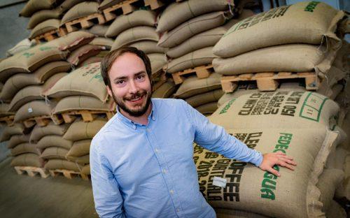 Florian Amann ist Geschäftsleitungsmitglied des Vorarlberger Kaffee-Spezialisten Amann Kaffee. vn/Stiplovsek