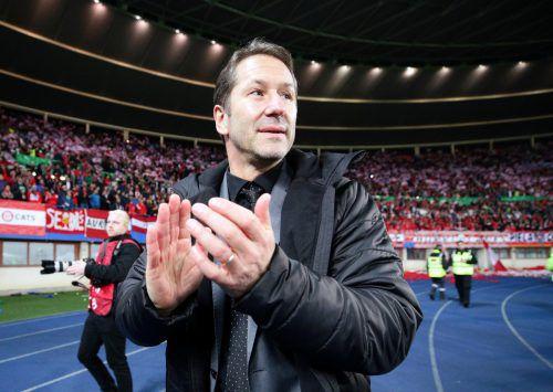 Franco Foda führte das Nationalteam zu einer historischen EURO. reuters