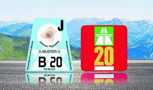 Freie Fahrt für 2020: Wer einen neuen VN-Premium-Abonnenten wirbt, sichert sich und dem neuen Leser die Vignette 2020 für Österreich und die Schweiz.VN
