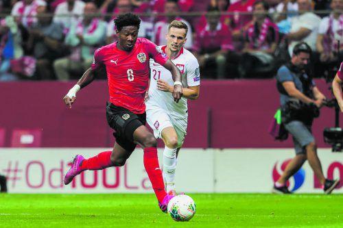 Für David Alaba wäre eine erneute Teilnahme bei einer Europameisterschaft eine ganz große Sache. Und er spürt, wie sehr die Fans jetzt hinter dem Team stehen.gepa
