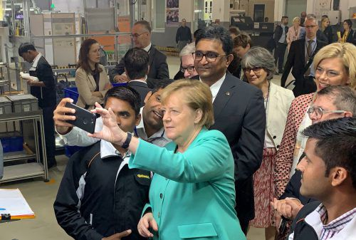 Für die deutsche Kanzlerin hat die deutsch-indische Zusammenarbeit deutlich mehr Potenzial als bisher.Reuters