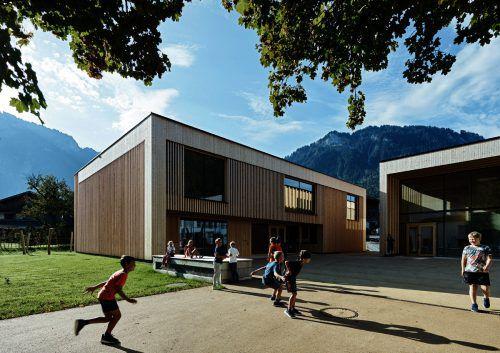 Schafften es unter die Top-12 beim Bauherrenpreis der Hypo Vorarlberg: Die von Dorner/Matt geplanten Gemeindebauten in Mellau.VHBK