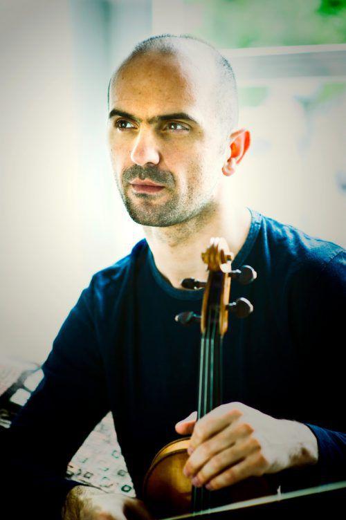 Geiger Rudens Turku ist weltweit gefragter Solist und Professor am Vlbg. Landeskonservatorium. wildundleise