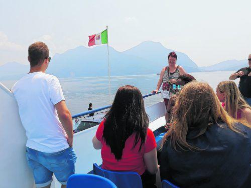 Gemeinsam für die LAP lernen unter der Sonne Italiens.
