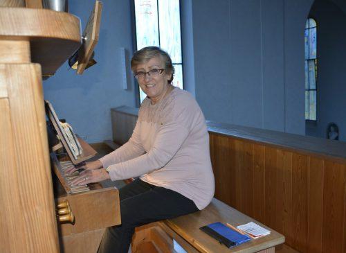 Gerne übt Maria Ortner an der Orgel im Dornbirner Kloster, das für sie ein vertrauter Ort geworden ist. eh