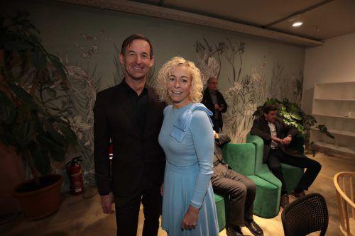 Gernot Stoppel (tecnoseal) und Christina Berlinger (Agentur hellblau).