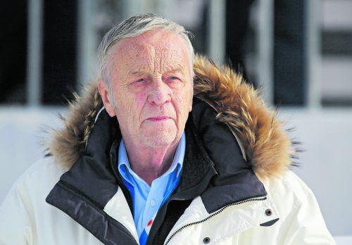 Gian Franco Kasper tritt beim nächsten FIS-Kongress zurück.gepa