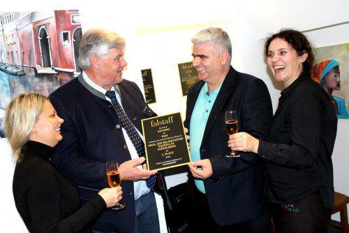 Glückwünsche für das Antonio-Team gab es von Bürgermeister Katzenmayer.