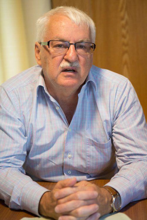 Günter Bischof ist in den USA ein renommierter Historiker.VN/Hartinger