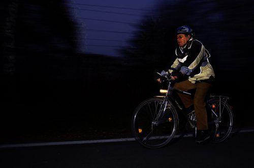 Gute gesehen werden ist für Radfahrer eine wichtige Sicherheitsmaßnahme. In Rankweil hat die Polizei die Räder der Schüler kontrolliert. Sicheres Vorarlberg
