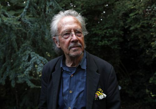 Peter Handke wird am 10. Dezember der Nobelpreis für Literatur verliehen. AP