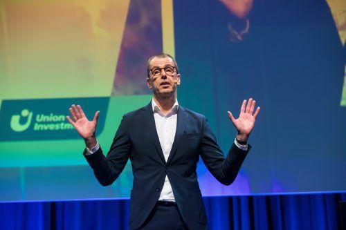 Hans Joachim Reinke ist Vorstandsvorsitzender von Union Investment. Die Fondsgesellschaft verwaltet 350 Milliarden Euro an Kundenvermögen.