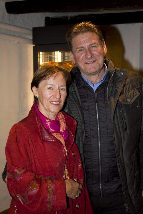 Helga und Alfred Frühwirth genossen den Schlossrundgang.