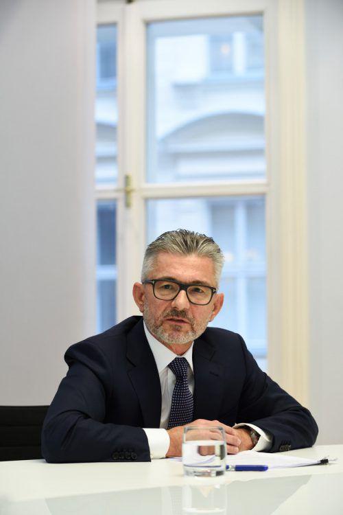 Herbert Eibensteiner, neuer Chef des Stahlkonzerns Voestalpine. Fabry