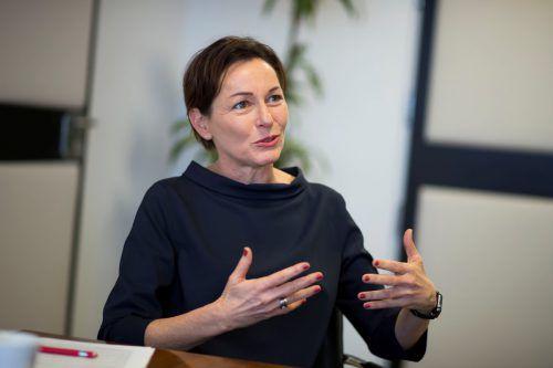 Ihre Redegewandtheit dürfte für die kürzlich angelobte Gesundheits- und Sportlandesrätin Martina Rüscher sicher nicht von Nachteil sein.vn/paulitsch
