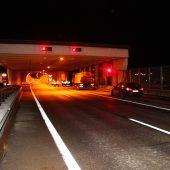 Zwei Tunnel für mehrere Stunden gesperrt