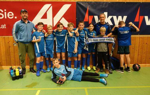 Turniersieg der U11 von BW Feldkirch in Dornbirn.fc bw feldkirch