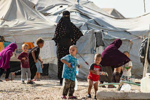 Im syrischen Al-Hol-Camp soll sich auch eine Österreicherin befinden. APA