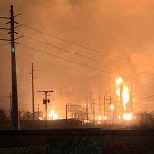 Drei Verletzte bei Explosion in texanischer Chemiefabrik
