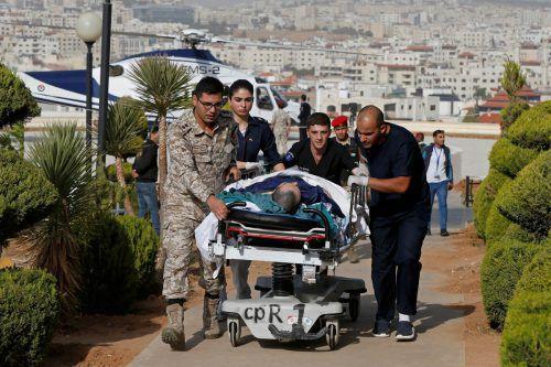 Insgesamt wurden acht Menschen verletzt, der Angreifer konnte verhaftet werden. RTS