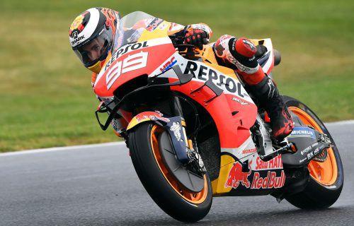 Jorge Lorenzo hat seinen Rücktritt aus dem Motorrad-Rennsport verkündet.AFP