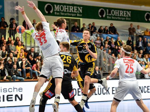 Josip Juric-Grgic war in beiden Vergleichen gegen seinen Ex-Klub erfolgreichster Bregenzer Torschütze.VN/Lerch