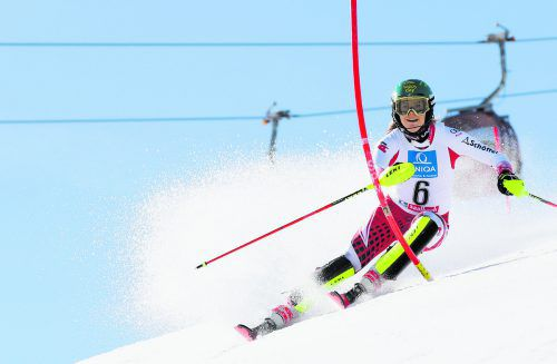 Katharina Liensberger droht eine Saison ohne Renneinsatz. Die Weltcupläuferin aus Göfis fehlte zuletzt bei den Trainingskursen des ÖSV.gepa