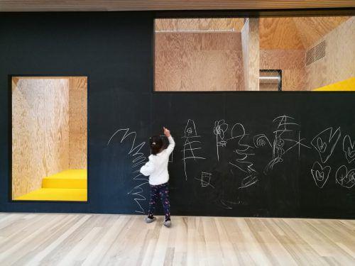 Kinderhaus in Kennelbach von Matthias Hein. AzW