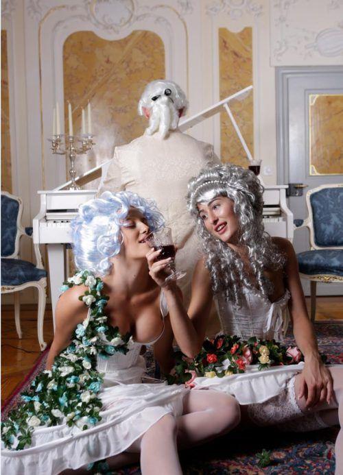 Kulinarik, Akrobatik und Glamour in der Welt von Mozart. showfactory