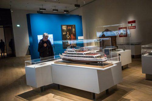 Kunst und Technik und Tourismus im Vorarlberg Museum. VN/Steurer