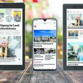 Exklusiv zu Weihnachten: VN-Digital plus Gerät nach Wahl