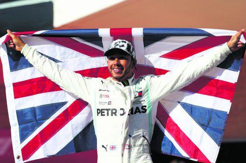 Lewis Hamilton feierte in Austin seinen sechsten WM-Titel. Mercedes-Chef Toto Wolff ist sich sicher, dass sein Vorfahrer auch den Rekord von Michael Schumacher einstellen kann. apa