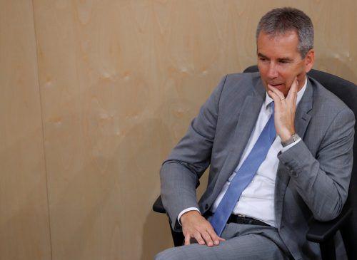 Löger steht als Finanzminister nicht mehr zur Verfügung.APA