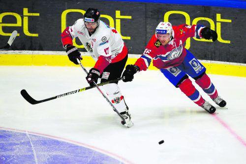 Manuel Ganahl (l.) brachte Österreichs Team gegen Norwegen in Führung.ap