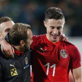 Österreichs U21-Nationalteam mit klarem 4:0-Sieg über Kosovo