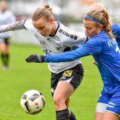 Ganz bitterer Nachmittag für Rankweils Damen im ÖFB-Cup
