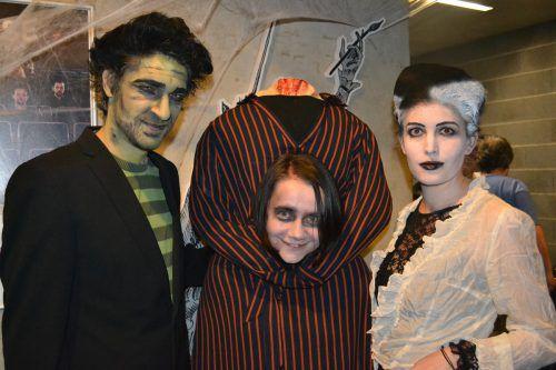 Martin Stecher, Manuela Mylonas und Jasmine Türk überzeugten schon im vergangenen jahr mit ihren Kostümen - man darf gespannt sein, was es heuer alles zu sehen gibt.bi